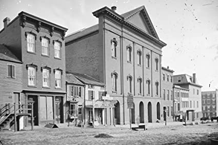 New 5x7 Photo Ford/'s Theatre after President Abraham Lincoln Assassination