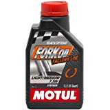 Motul 100% Synthetic Fork Oil - Light/Medium 7.5-5 wt - 1 lt 821711 / 101127
