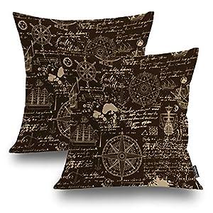 51fJjqHLrXL._SS300_ 100+ Nautical Pillows & Nautical Pillow Covers