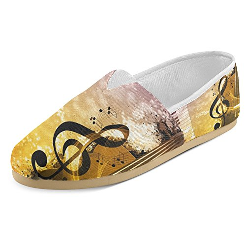 InterestPrint Womens Loafers Classic Casual Canvas Slip On Fashion Shoes Sneakers Flats Multi 17 RVBhIRH