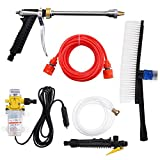 Northbear DC 12V 160PSI High Pressure Car Water Wash Pump Sprayer Kit Tool with Oxford Bag