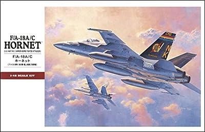 F/A-18A/C Hornet USN/MC Fighter/Attacker Aircraft 1/48 Hasegawa