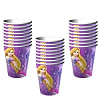 Disney Tangled Sparkle Party 9 oz. Cups - 24 Pieces