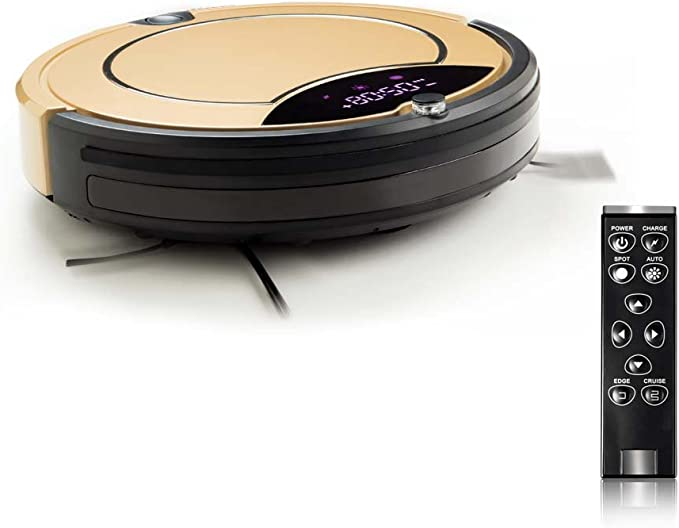 A BDC Aspirador Robot Cleaner Color Golden: Amazon.es: Hogar