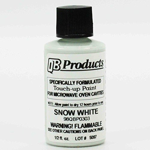Microwave Oven Universal Cavity Touch Up Paint 98QBP0303 Snow Bright White New! (Cavity Oven)