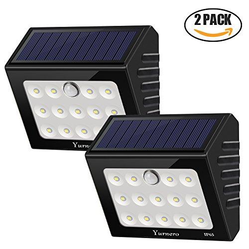 Solar Lights Outdoor Motion Sensor Yurnero Supe...