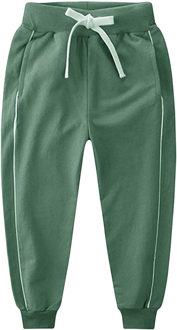 Ancia Boys Cotton Sweatpants Track Pants for Little and Big Boys