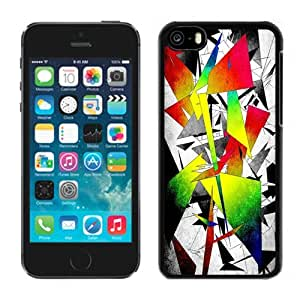 New Personalized Custom Designed For iPhone 5C Phone Case For Colored Abstract Geometries Phone Case Cover wangjiang maoyi