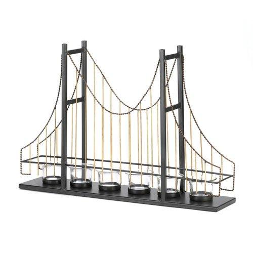 GOLDEN GATE BRIDGE CANDLE HOLDER