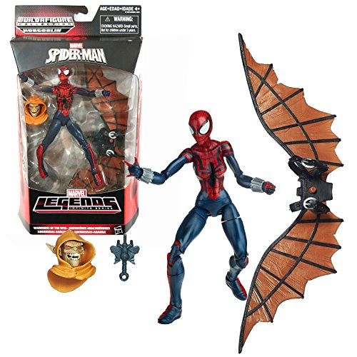 Marvel Hasbro Year 2015 Legends Infinite Hobgoblin Series 6 Inch Tall Figure - Warriors of the Web SPIDER-GIRL with Hobgoblin's Head and Wingpack