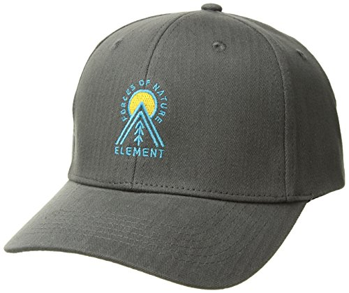 Element Men's Camp II Cap, Asphalt, ONE