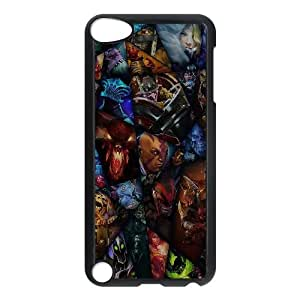 iPod Touch 5 Case Black ai73 lol art chracters illust game Cyexw