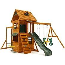 Big Backyard F270855 Ridgeview Clubhouse Deluxe Play Set