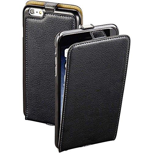 "Hama Essential ""Smart Case"" - Flip-Hülle für Mobiltelefon - Leder - Schwarz - für Apple iPhone 6 Plus, 6s Plus"