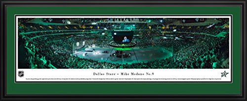 Dallas Stars - Mike Modano - Blakeway Panoramas NHL Posters with Deluxe Frame