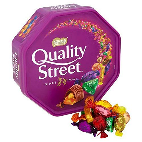 Chocolates Celebration (Nestle Quality Street Tub Nestle Quality Street Tub Imported From The UK England Traditional British Sweet Quality Street Iconic Treats That No One Can Resist)