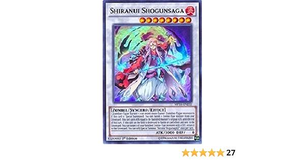 MP16-EN212 1st Edition Shiranui Shogunsaga Yugioh Ultra Rare
