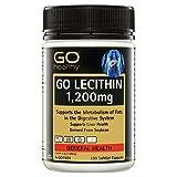 GO Healthy Lecithin 1200mg 100 Capsules