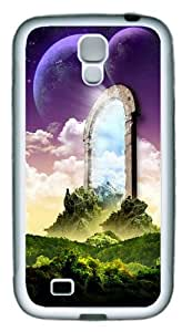 Photoshop Scenery TPU Rubber Soft Case Cover For Samsung Galaxy S4 SIV I9500 White