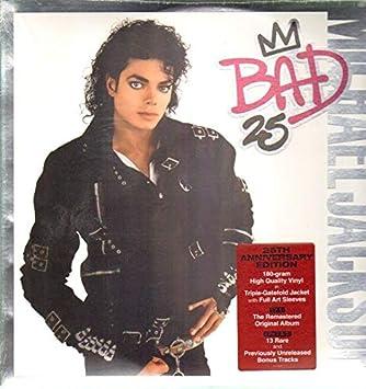 Jackson Michael Michael Jackson Bad 25th Anniversary Edition Lp Vinyl Lp Amazon Com Music