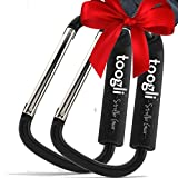 Baby : The BETTER XL Stroller Hook Set By Toogli. Two Great Organizer Baby Accessories for Any Mommy or Daddy. Hangs Diaper/Shopping Bags, Purses and More. Clip Even Fits Uppababy Vista and Uppababy Cruz.