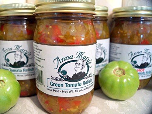 Anna Mary's Green Tomato Relish (2 Jars)