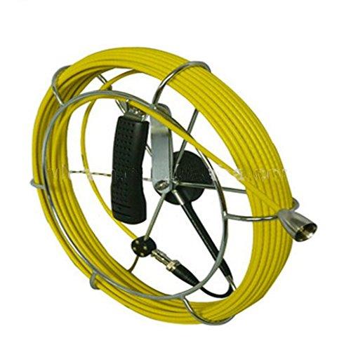 30m diameter 5.2mm fibreglass push rod cable reel for 16mm / 23mm / 29mm camera head ()