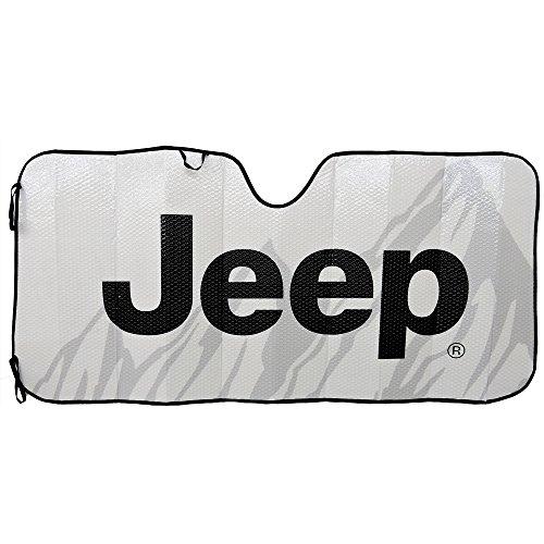 Plasticolor 003718R01 'Jeep' Accordion Sunshade