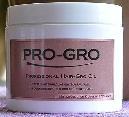 PRO-Gro Profesional GRO de pelo Aceite 118ml Contra Calvicie y pérdida de cabello -