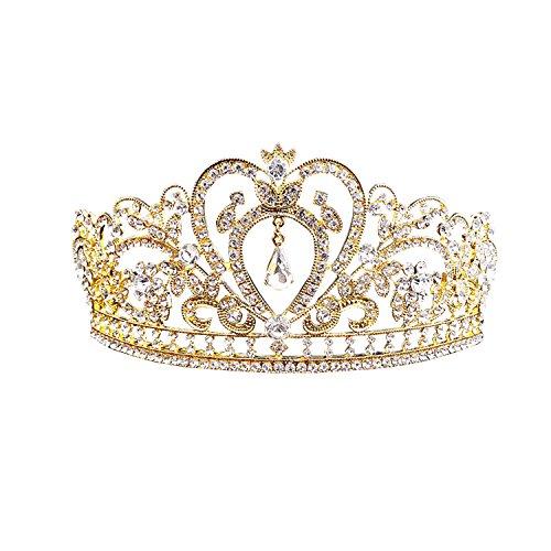 Rhinestone Tiara Crown 6