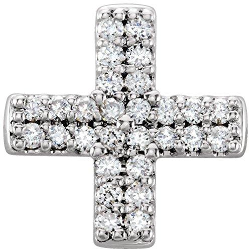 Elegant Diamond Cross Pendant - 5