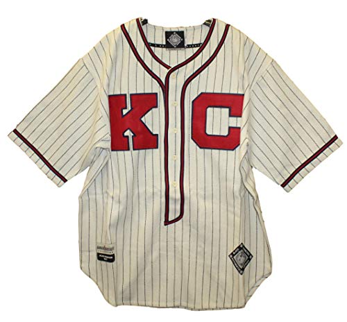 (Head Master Cups Kansas City Monarchs - Jackie Robinson 1945 Negro League Home Jersey, 58)