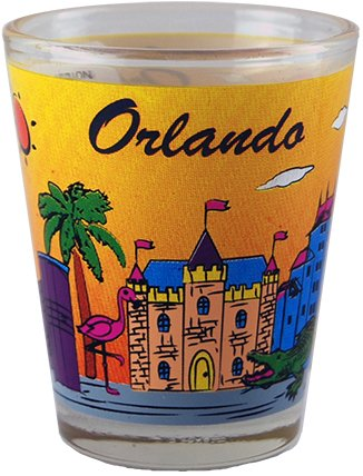 American Cities and States of Cool Shot Glass's (Orlando)