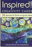 Inspired! Creativity Cards, C&T Publishing Staff, 160705180X
