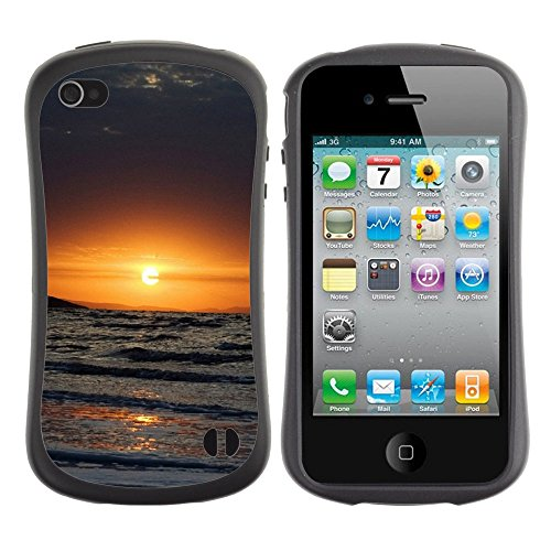 Apple Iphone 4 / 4S [Nature Sunset Ocean Wave Beach Landscape View S Parallax]