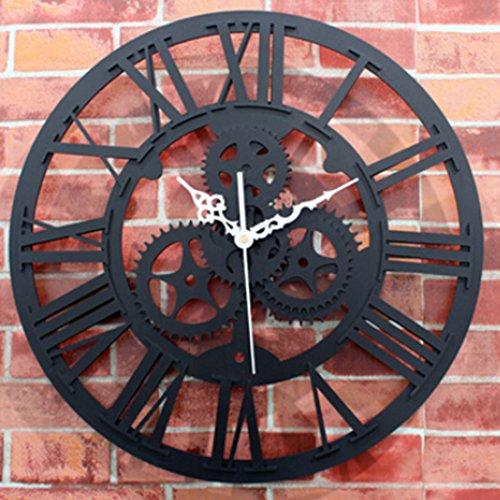 gears wall clock - 7
