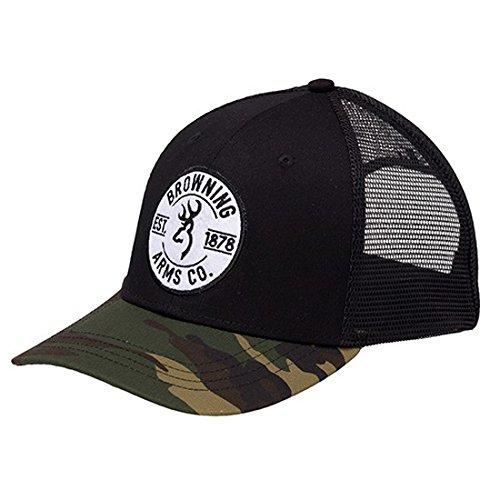 Browning 308365991 Cap, Prime, Black/Camouflage