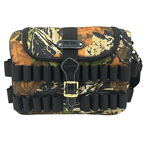 Tourbon Hunting Shooting Camouflage Shotgun Shell Speed Loader Cartridge Game Bag (Shotgun Speedloader)