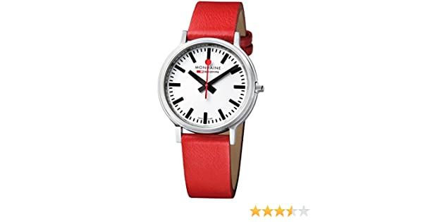 Amazon.com: Mondaine Stop2go Mens Wristwatch Exceptional Second Hand: Watches