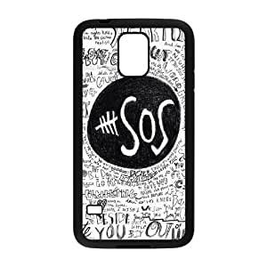 SamSung Galaxy S5 I9600 2D Custom Phone Back Case with 5 seconds of summer Image