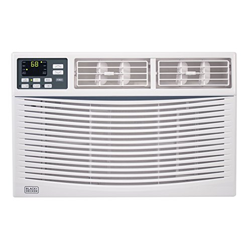 Decker Shaft - BLACK+DECKER BWAC08WT 8,000 BTU ENERGY STAR Electronic Window Air Conditioner with Remote