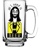 Ek Do Dhai Beer Mug, 649g, Multicolour
