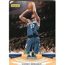 2009 /10 Panini NBA Basketball Card # 212 Corey Brewer Minnesota Timberwolves Mint Condition