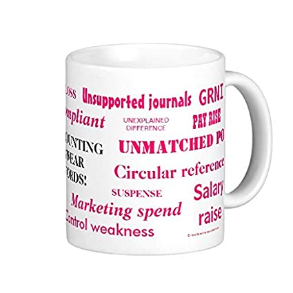 Accountant Weakness Jokes Mug Funnypictures