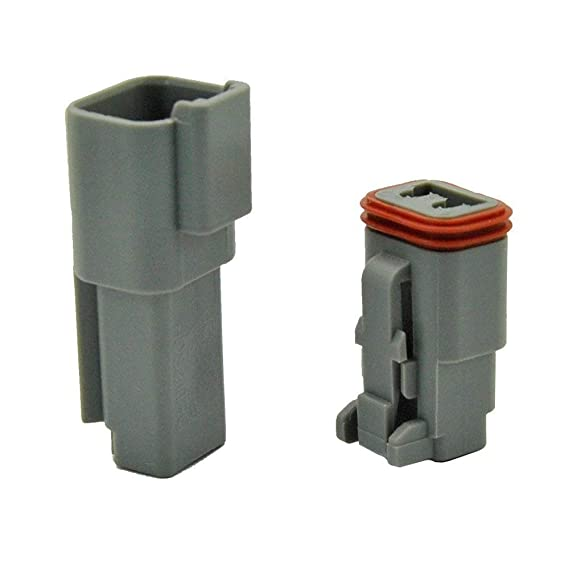 IMAGINE 5 Kit Pin Way DT Series Connettore Grigio Receptacle IP67 Impermeabile Heavy Duty 14-20 AWG 13 A continua