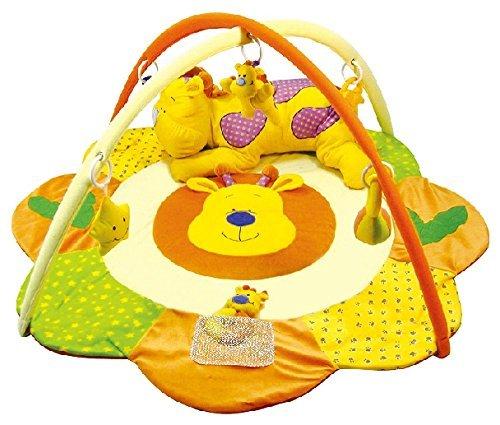 Alfombras de juego y gimnasio para bebés, mantas de actividades ciervo. Regalo bebé TORAL BEBE SL