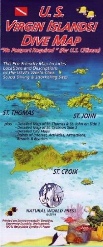 U.S. Virgin Islands! DIVE MAP