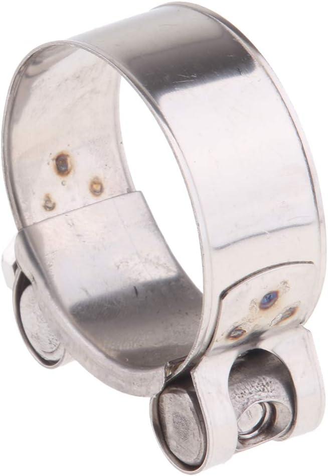 32-35mm SDENSHI Colliers de Serrage /à Boulon en Acier Inoxydable