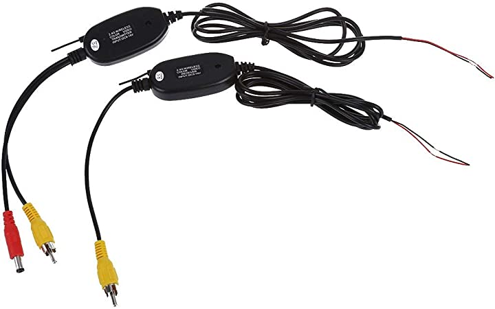 Émetteur et récepteur vidéo couleur sans fil 2.4G pour vue de recul de la v ~PL