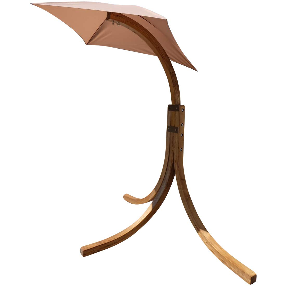 Design Hängesesselgestell NAVASSA aus Holz Lärche (ohne Sessel) von AS-S